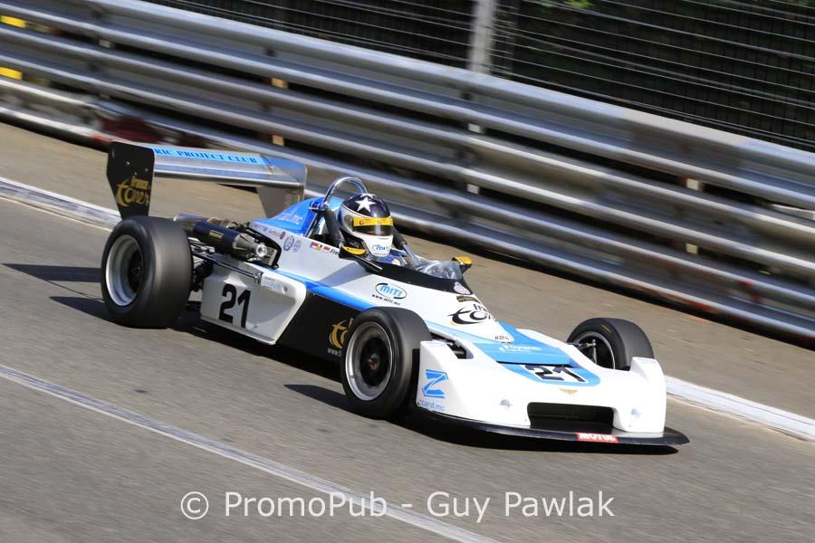 Grand Prix Historique Pau 2016 - Frédéric Lajoux - Chevron B43 - 1er F3 et FR Classic courses 1 & 2