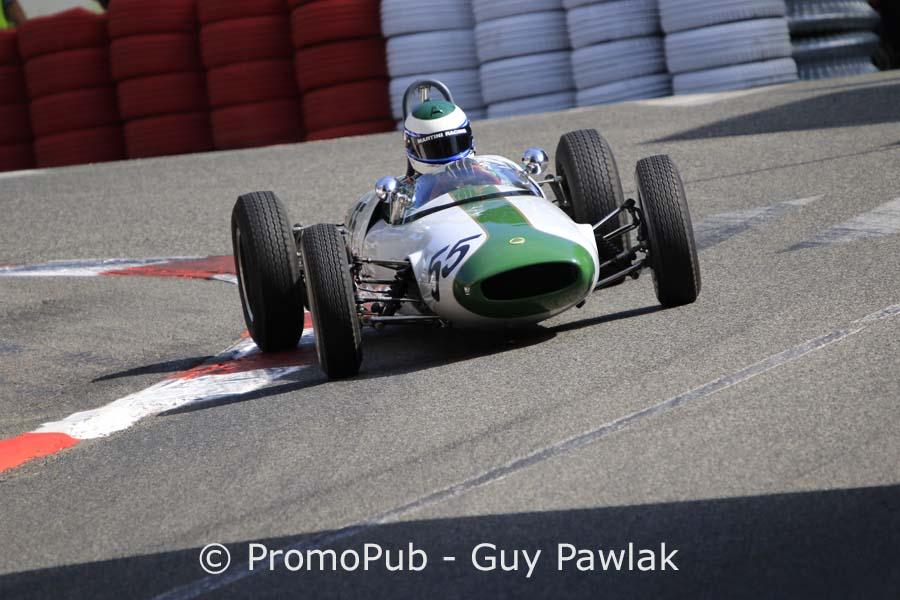 Grand Prix Historique Pau 2016 - Manfredo Rossi di Monteleva - Lotus 22 - 1er FIA Luriani Trophy junior course 2