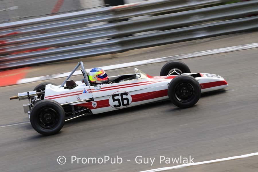 Grand Prix Historique Pau 2016 -Neil Fowler - Winkelmann WDF - 1er Formule Ford course 2