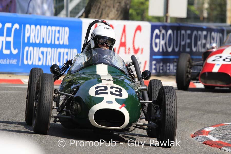 Grand Prix Historique de Pau 2016 - John Arnold - Elva 100 - FIA Lurani Trophy Junior