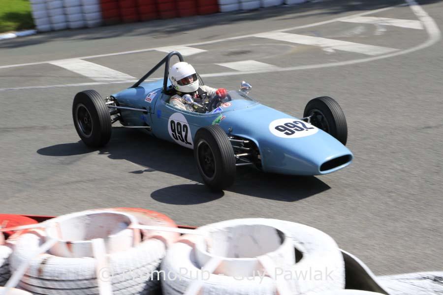 Grand Prix Historique Pau 2016 - Pierre Tonetti - Brabham BT 6 - 1er FIA Luriani Trophy junior course 1