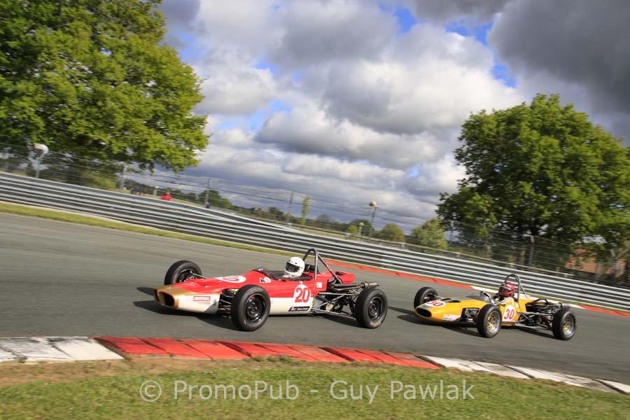 n°20 - Didier MANTZ - JOMO JMR 7 / n°30 - Bernard RICHARD - ALEXIS Mk 18 B - Plateau Formule Ford Historique