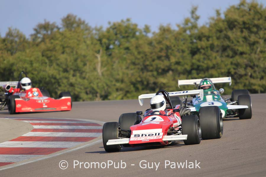 Dijon Motors Cup 2016 - Historic F2 - Robert Simac - March 712M