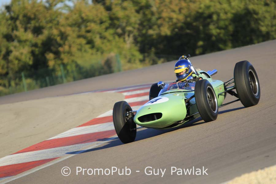 Dijon Motors Cup 2016 - F1 pré 66 - Andrew Beaumont - Lotus 24
