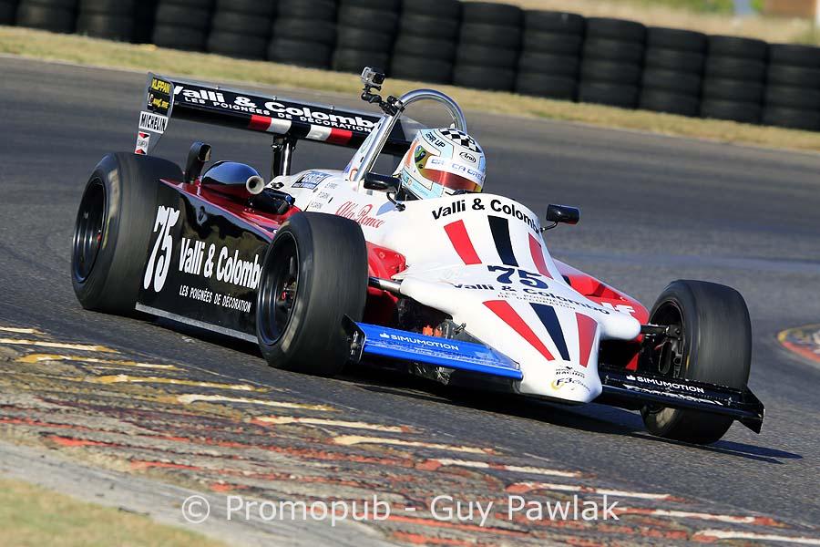 Hugo Carini (Ralt RT3) - Champion de France Historique des circuits 2016 en monoplaces