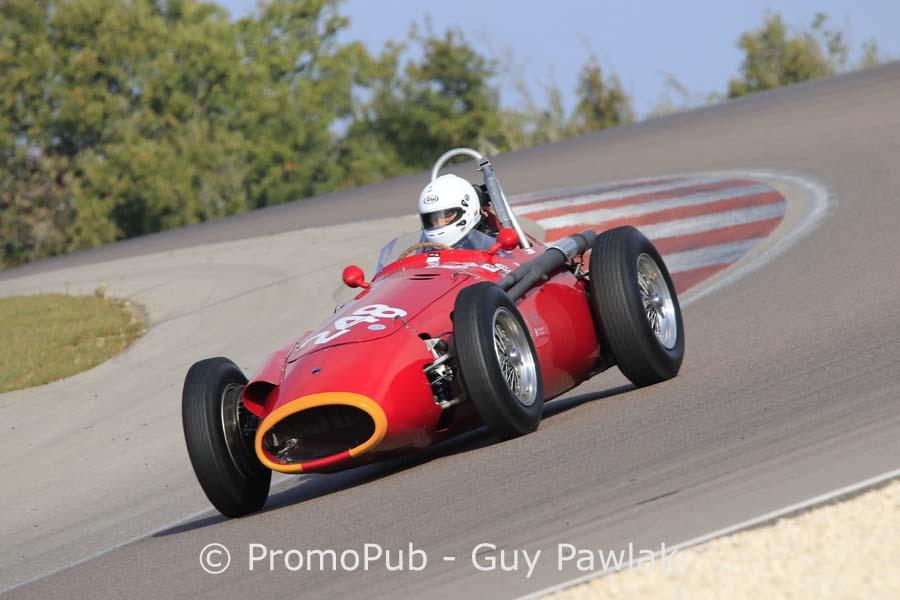 Dijon Motors Cup 2016 - F1 pré 61 - Lehr Klaus - Maserati 250 F