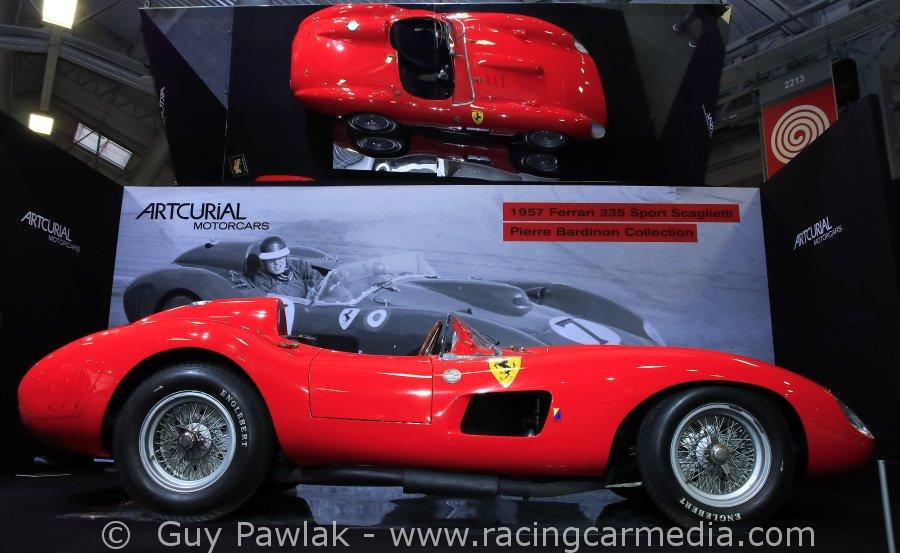 Lors de l'édition 2016, cette Ferrari était le bijou du salon !